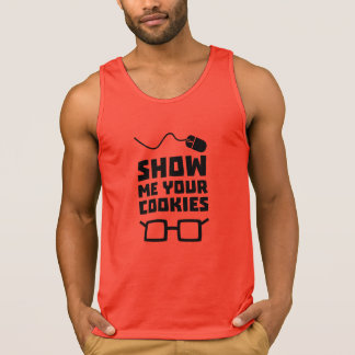 Show me your Cookies Geek Zb975 Singlet