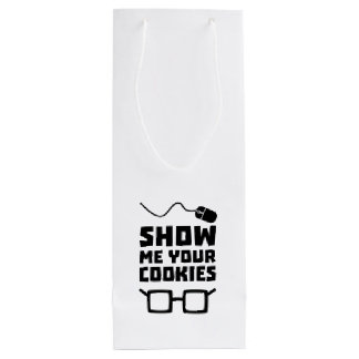 Show me your Cookies Geek Zb975 Wine Gift Bag