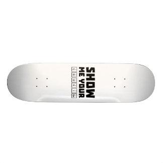 Show me your cookies nerd Zh454 20 Cm Skateboard Deck