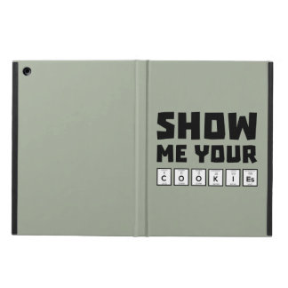 Show me your cookies nerd Zh454 Cover For iPad Air