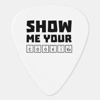 Show me your cookies nerd Zh454 Guitar Pick