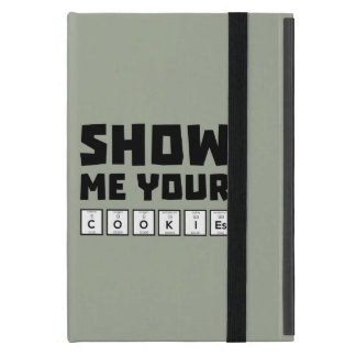 Show me your cookies nerd Zh454 iPad Mini Cover