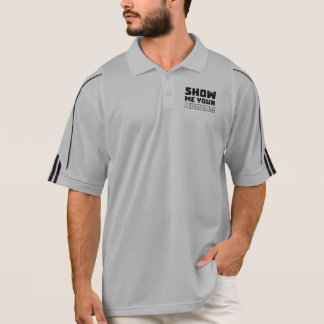 Show me your cookies nerd Zh454 Polo Shirt