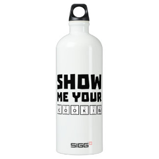 Show me your cookies nerd Zh454 SIGG Traveller 1.0L Water Bottle