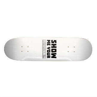 Show me your cookies nerd Zh454 Skate Boards
