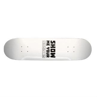 Show me your cookies nerd Zh454 Skateboard Deck