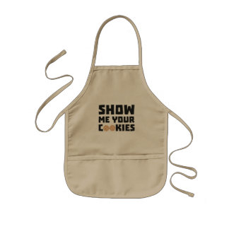 Show me your Cookies Z64x4 Kids Apron