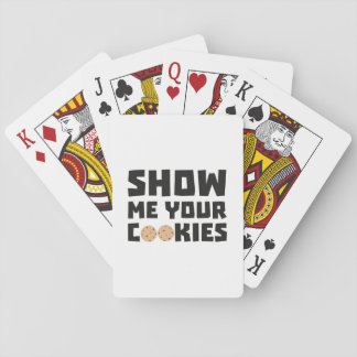 Show me your Cookies Z64x4 Playing Cards