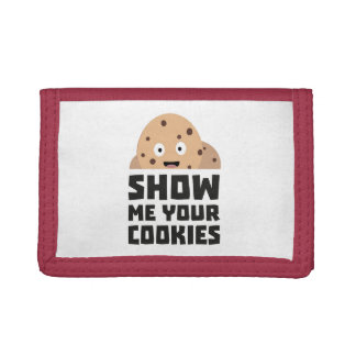 Show me your Cookies Z9xqn Trifold Wallets