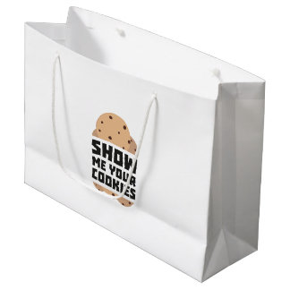 Show me your Cookies Znwm6 Large Gift Bag