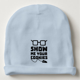 Show me your Cookies Zx363 Baby Beanie