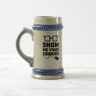 Show me your Cookies Zx363 Beer Stein