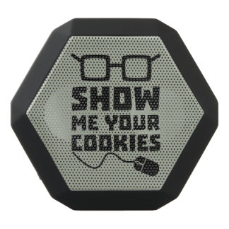 Show me your Cookies Zx363 Black Bluetooth Speaker