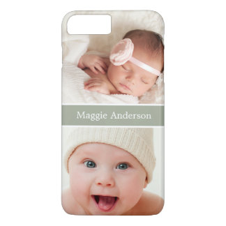 Show off your Newborn Baby Photos iPhone 7 Plus Case