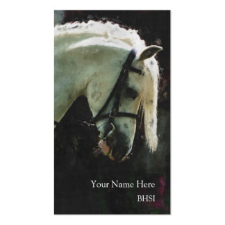 Show pony business card