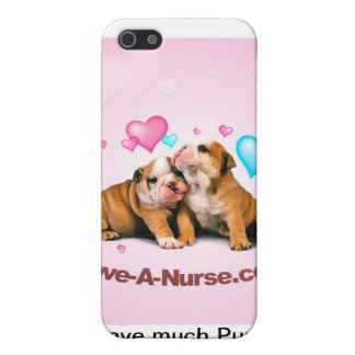 Show Puppy Love for Nurses iPhone 5 Cover