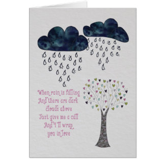 Show someone you care and are thinking of them. card