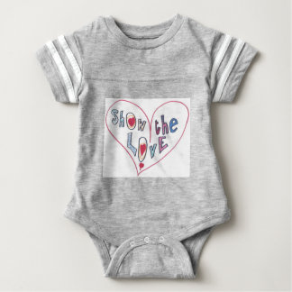 Show the Love Baby Bodysuit