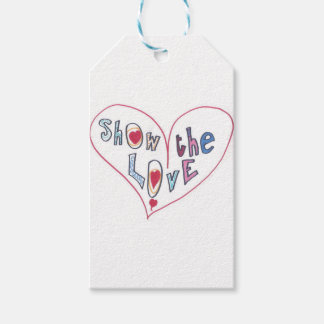 Show the Love Gift Tags