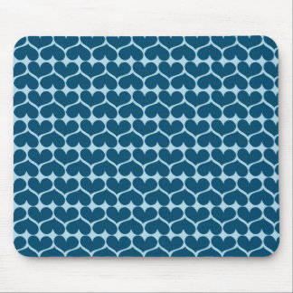 Show the LOVE pattern Mouse Pad
