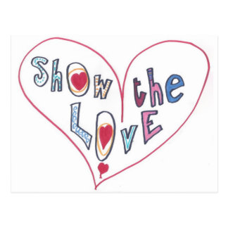 Show the Love Postcard