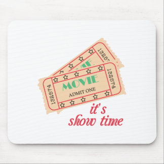 Show Time Mouse Pad
