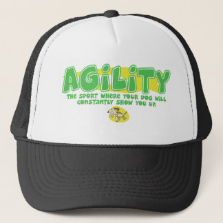 Show Up Dog Agility Hat
