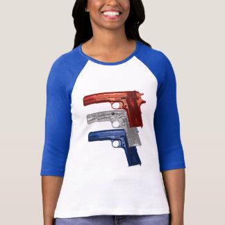 Show Your Colors: Colt 1911 Women's T-Shirt
