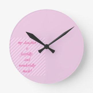 Show your daughter some love! clocks