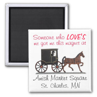 Show your love magnet