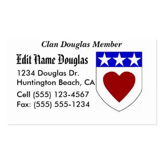 Show your pride! Clan Douglas Business Cards!...