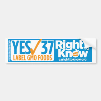 Show your support! Bumper Sticker