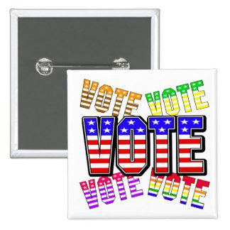 Show your true colors - Vote Button