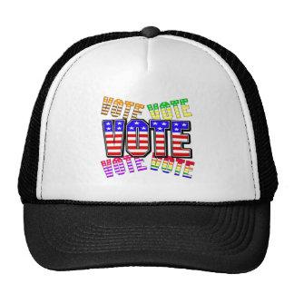 Show your true colors - Vote Mesh Hat