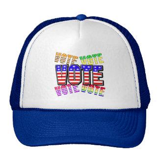 Show your true colors - Vote Trucker Hats