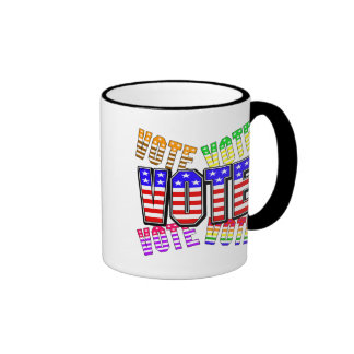 Show your true colors - Vote Coffee Mugs