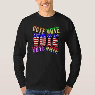 Show your true colors - Vote T-Shirt