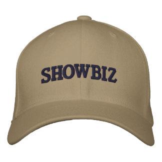 SHOWBIZ EMBROIDERED BASEBALL CAP