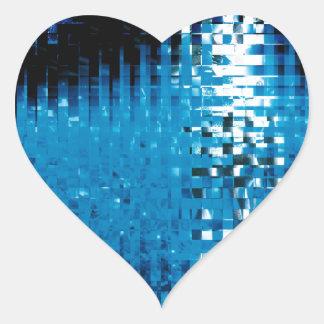 showbiz heart sticker