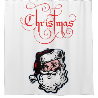 Shower Curtain Christmas