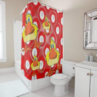 Shower curtain Ducks