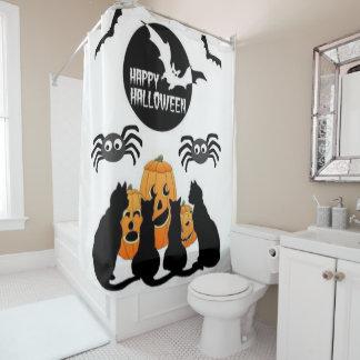 Shower curtain Halloween