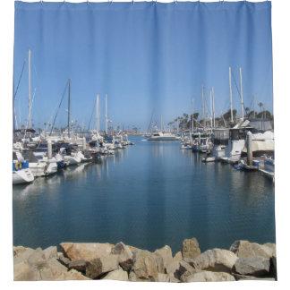 Shower Curtain--Oceanside Harbor Shower Curtain