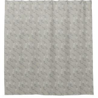 Shower curtain swirl patterns