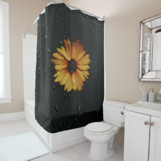 Shower Daisy Shower Curtain