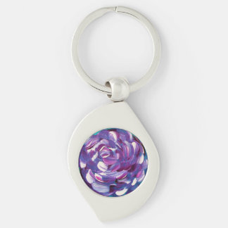 Shower Me With Flowers Key Ring