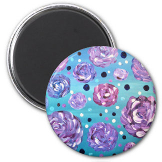 Shower Me With Flowers Magnet