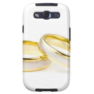 Shower Party Bride Groom Love Wedding Rings Galaxy SIII Cases