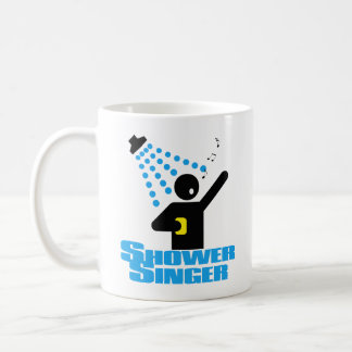 Shower Singer Coffee Mug