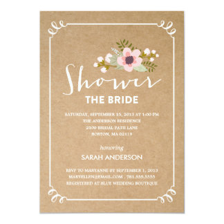 SHOWER THE BRIDE | BRIDAL SHOWER INVITATION